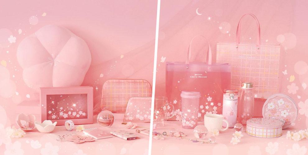 daiso korea cherry blossom cover 2