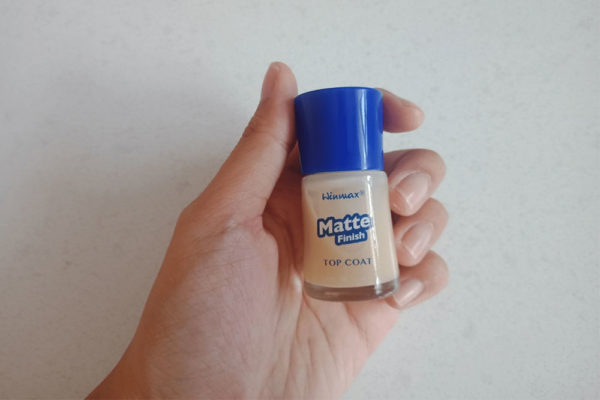 daiso matte nail polish top coat