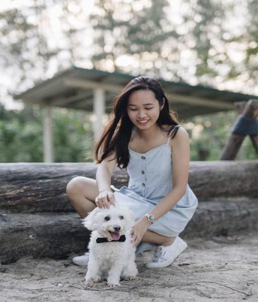 deborah and her dog pic