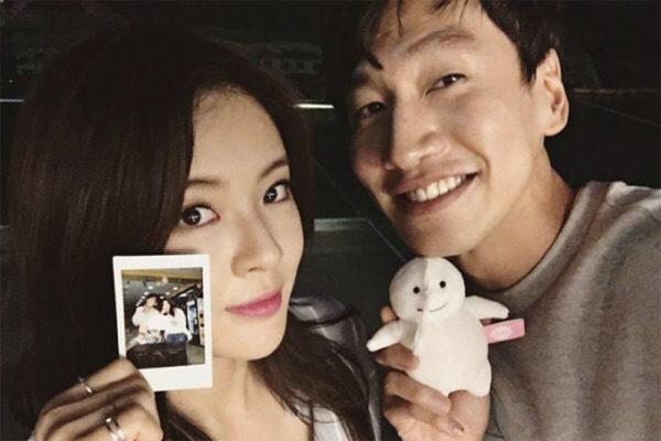 lee kwang soo and lee sun bin korean celeb couple