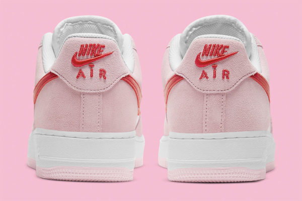 nike air force 1 valentines embroidered back