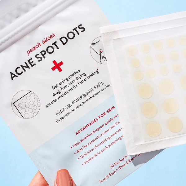 pimple patches peach & lily