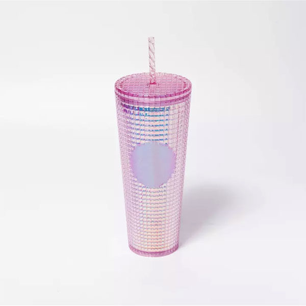 pink studded cold cup starbucks