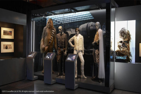 star wars exhibition v day activities