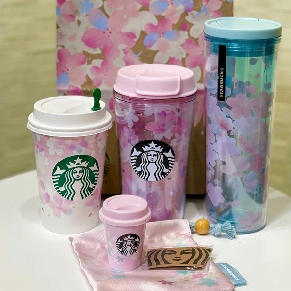starbucks japan sakura tumblers