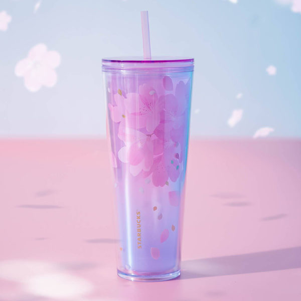 starbucks sakura 2021 clear cup