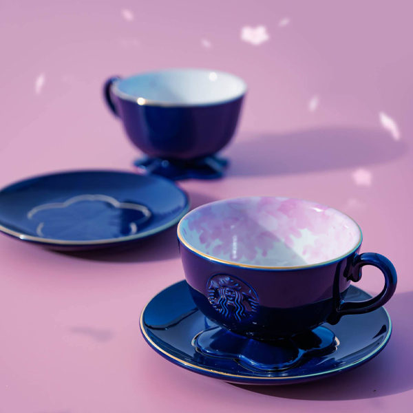 starbucks sakura navy teacup
