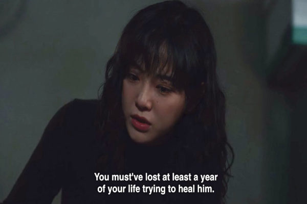 hana tells ms chu she lost a year