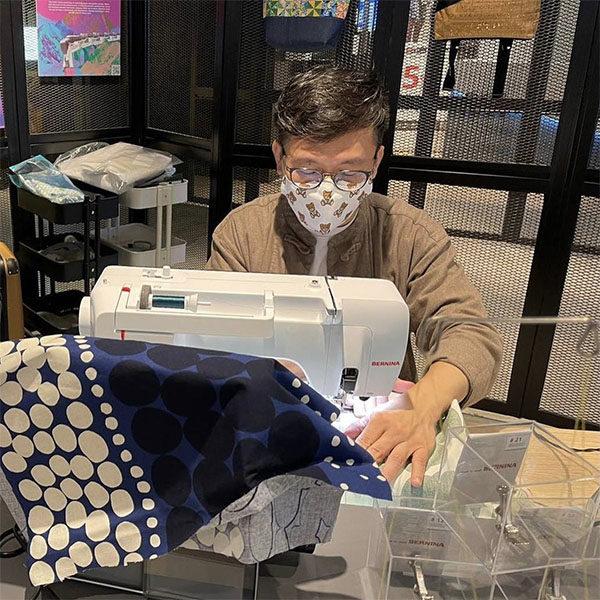 post brunch activities sewing workshop bernina