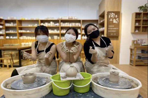 pottery workshop post brunch