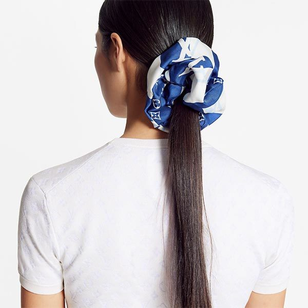 Louis Vuitton scrunchies