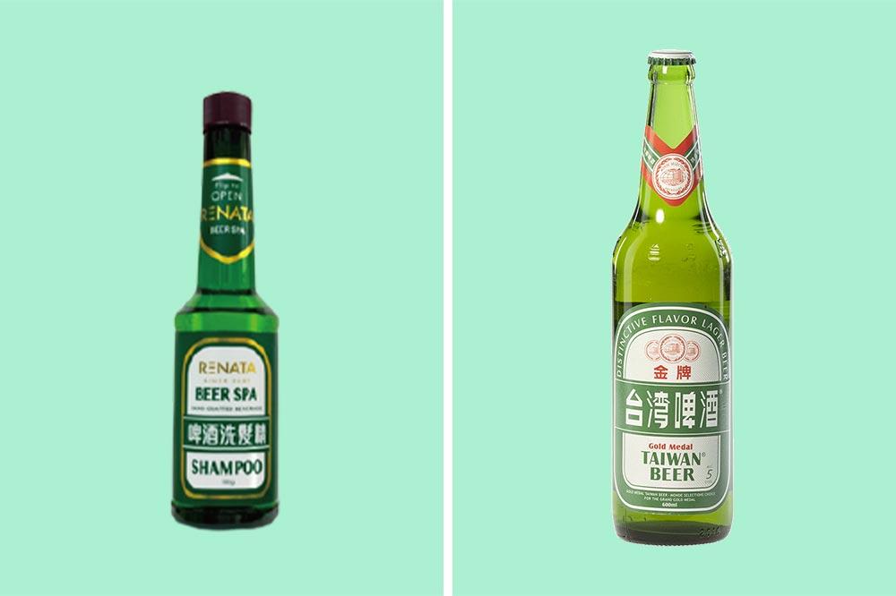 Taiwan Beer Bottle Shampoo