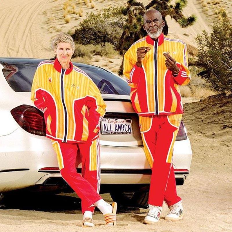 Adidas McDonald's Fries Tracksuits