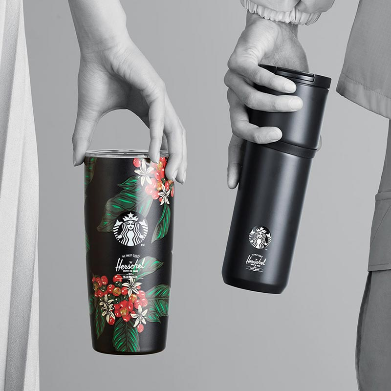 Starbucks Herschel Supply Tumblers