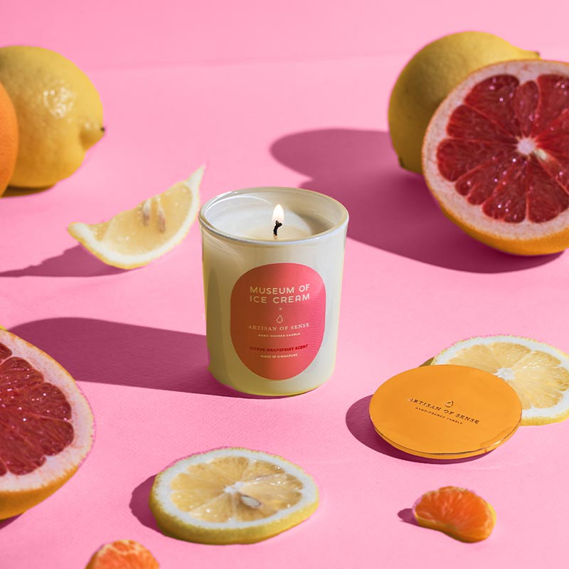 Museum of Ice Cream Candle