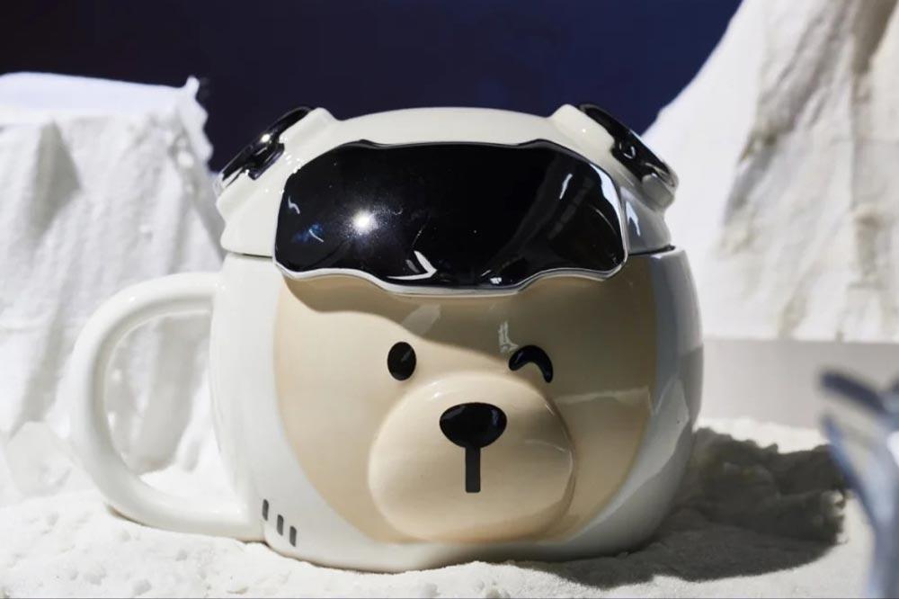 Starbucks Space Bear Mug