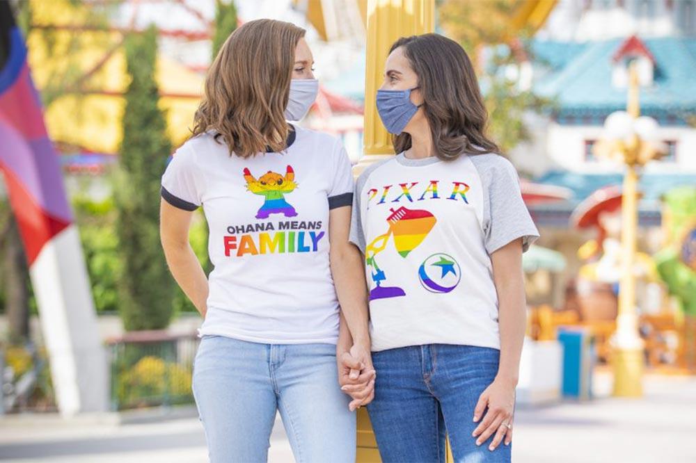 Disney Rainbow Collection Pixar T-shirts