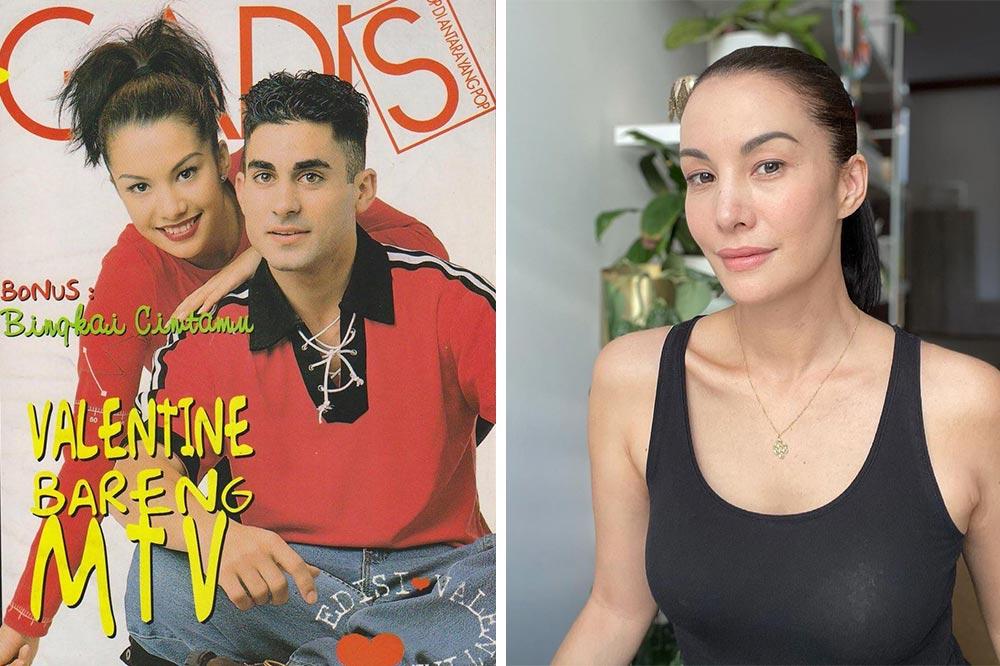 MTV Asia VJs Nadia Hutagalung