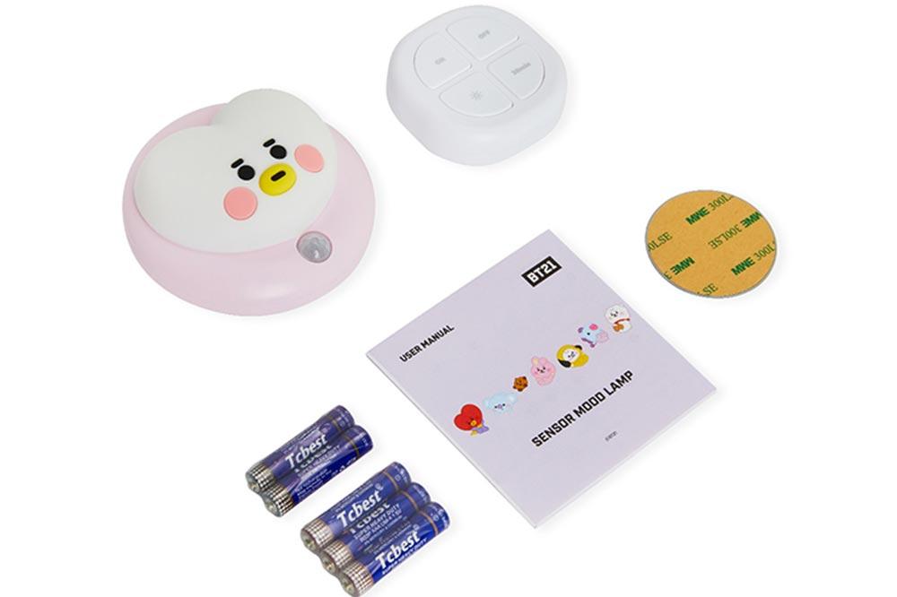 BT21 Night Lights Packaging