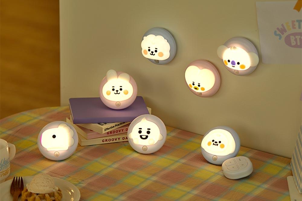 BT21 Night Lights Designs