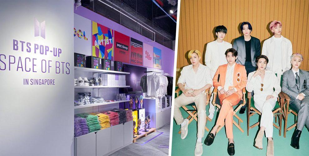 BTS Pop-up Funan