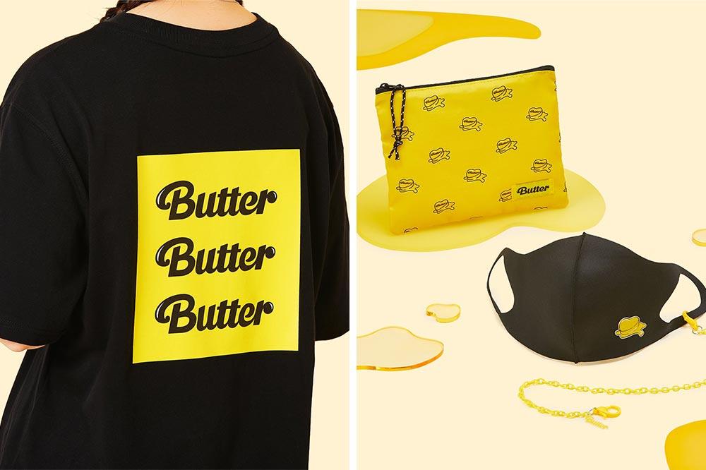 BTS Pop-up Funan Butter Merch