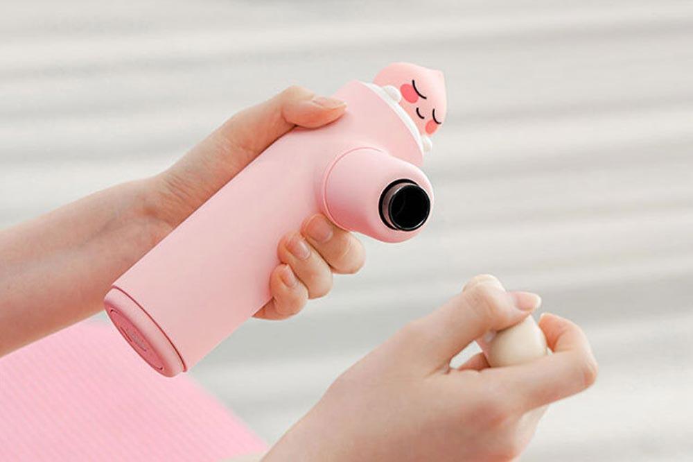 Kakao Friends Massage Gun Head Changing