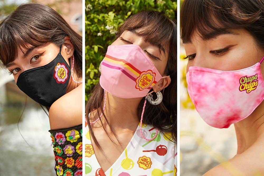 Pomelo Chupa Chups Face Masks