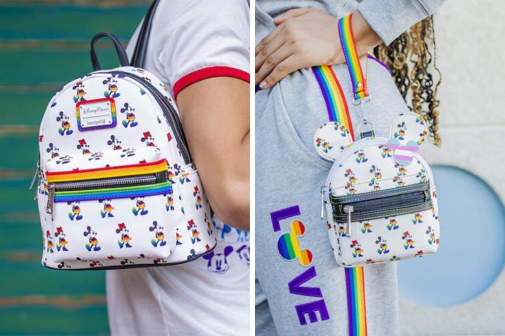 Disney Rainbow Collection Bags