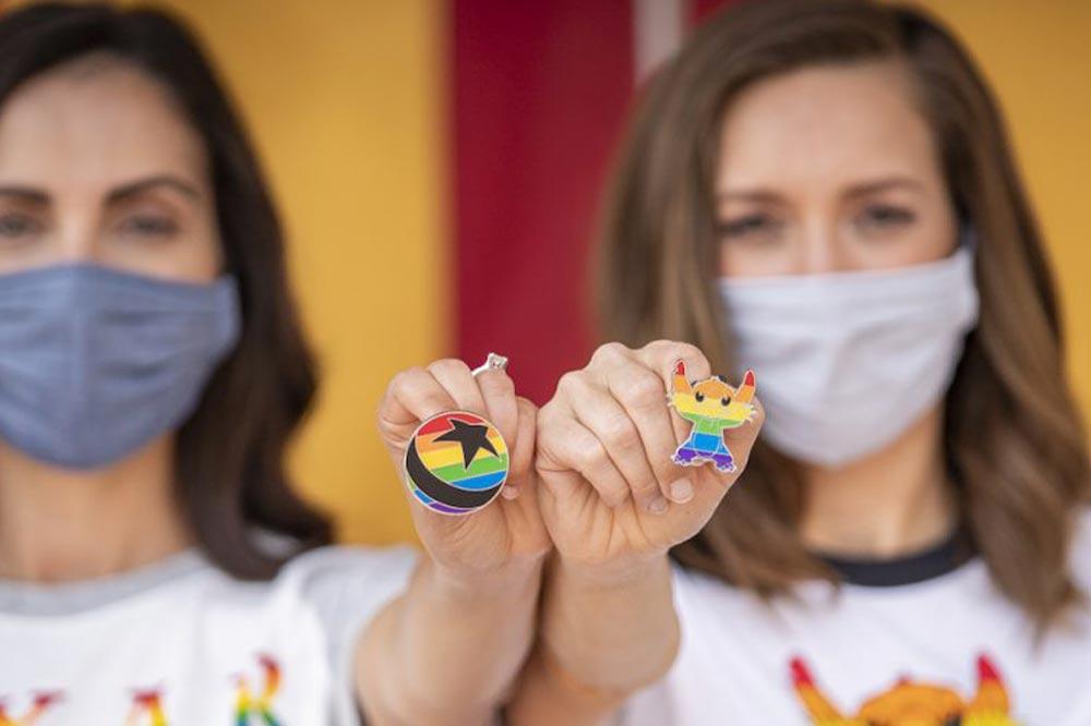 Disney Rainbow Collection Pixar Pins