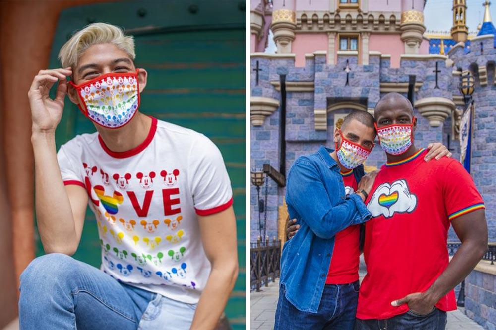 Disney Rainbow Collection Pride T-shirts