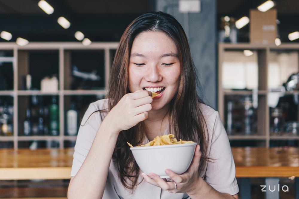 Acne Myths Greasy Food
