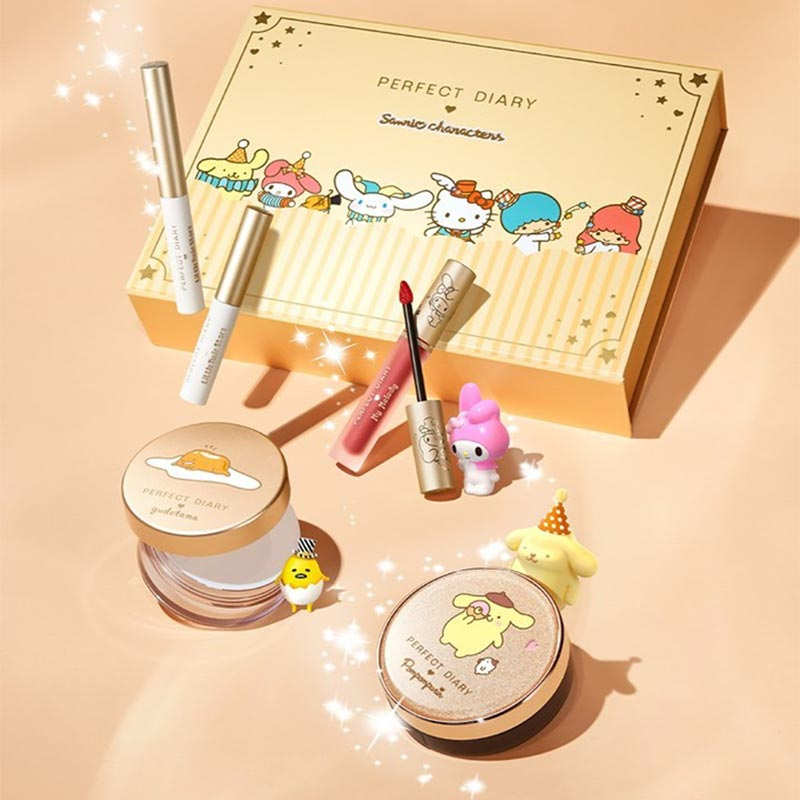 Perfect Diary Sanrio Makeup Gift Set