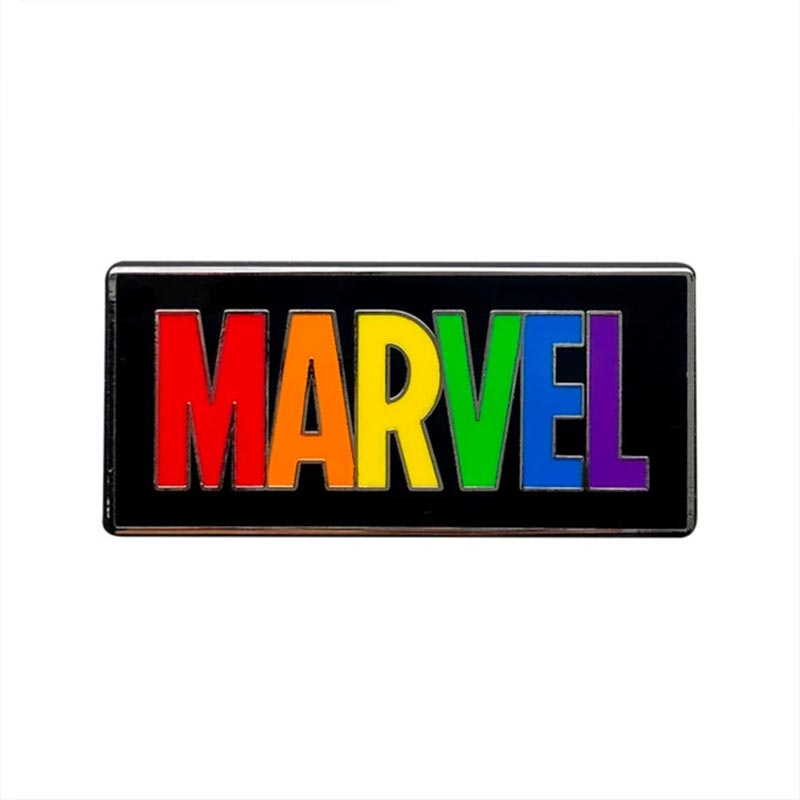 Disney Rainbow Collection Marvel Pin