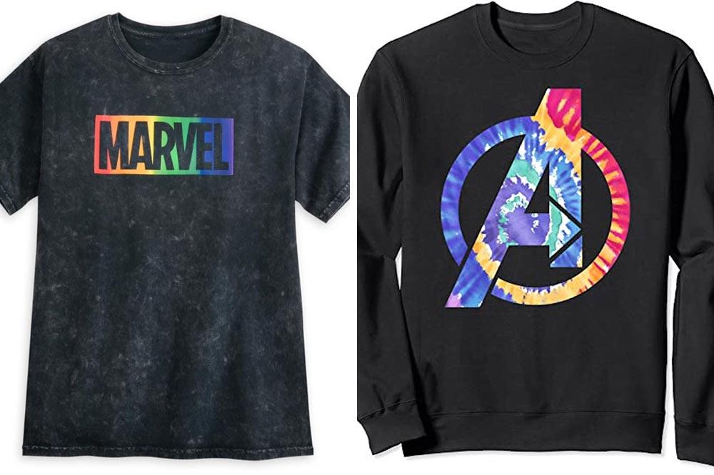 Disney Rainbow Collection Marvel T-shirts