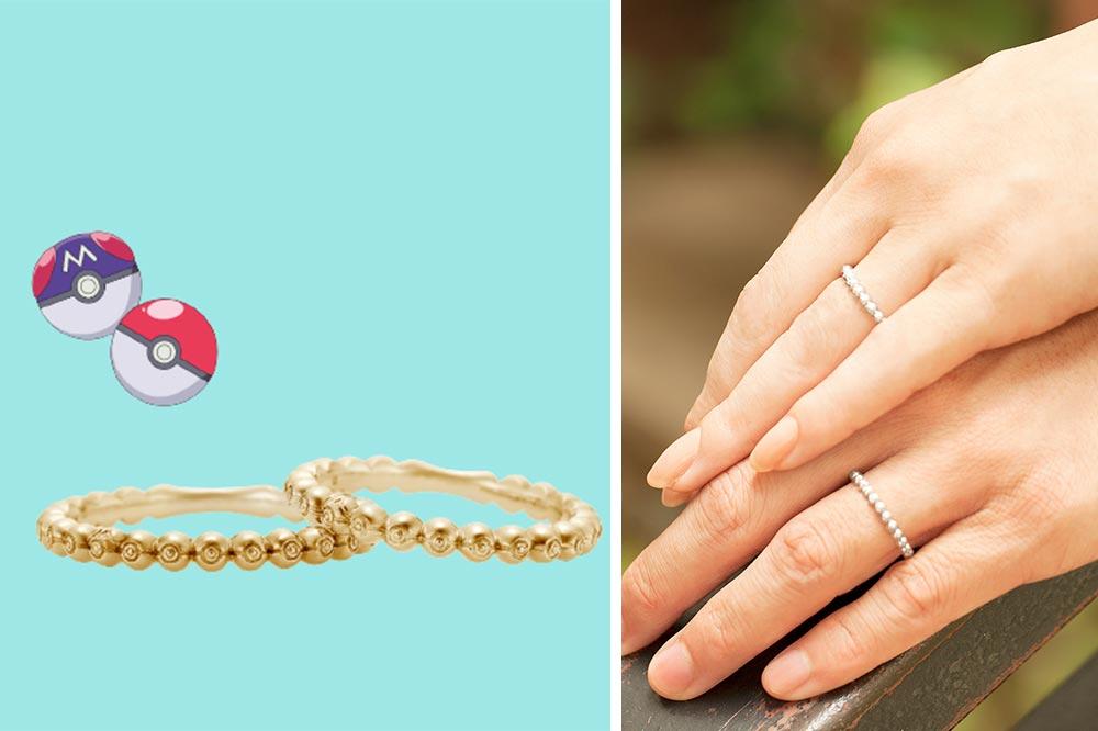 Pokemon Bridal Fair PokeBall Ring