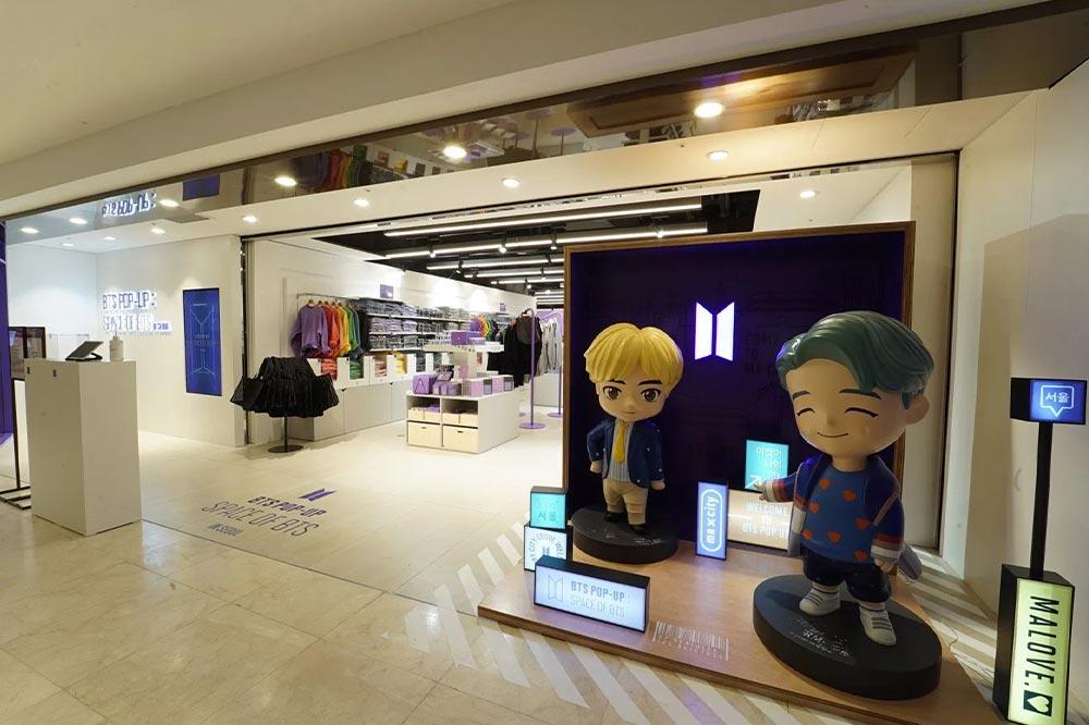 BTS Pop Up Funan Seoul