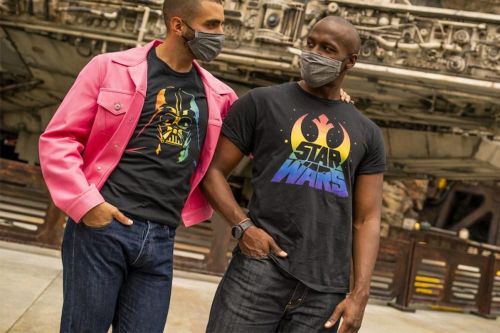 Disney Rainbow Collection Star Wars T-shirts