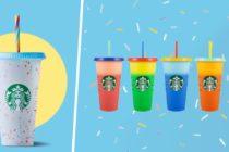 Starbucks Confetti Cups 2021