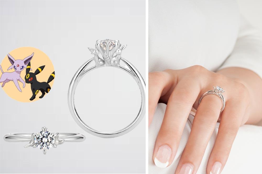 Pokemon Bridal Fair Eeveelution Ring