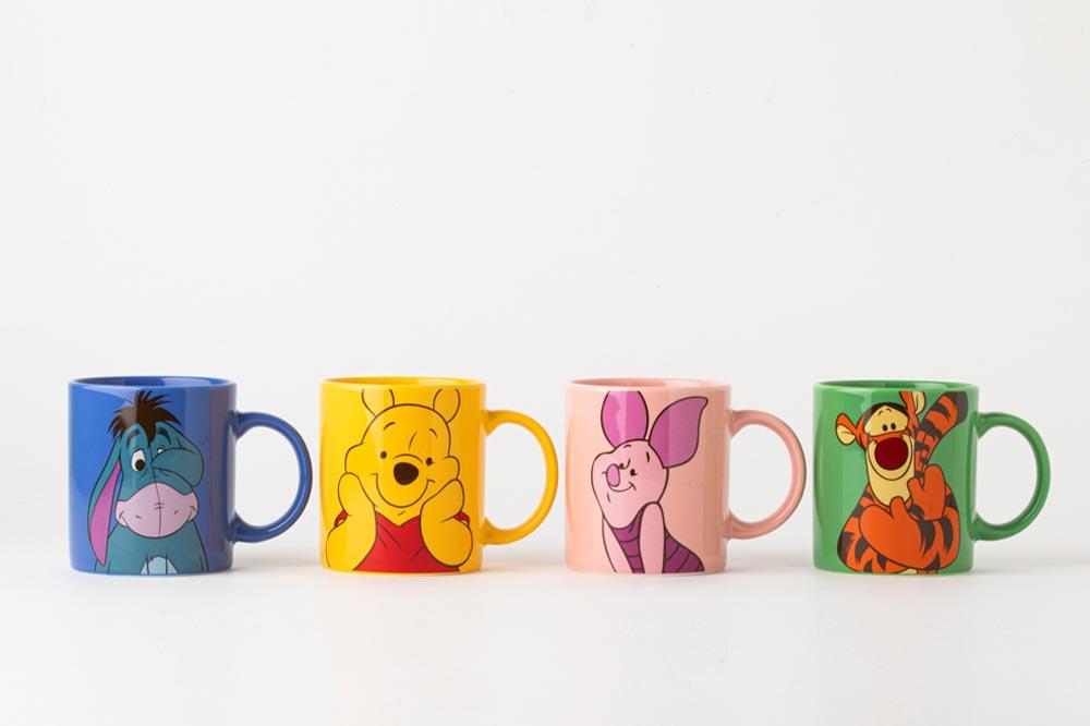 Winnie the Pooh Kitchenware Mugs
