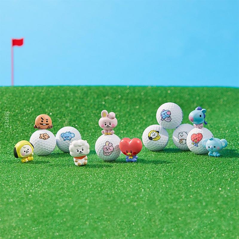 LINE FRIENDS golf BT21 balls