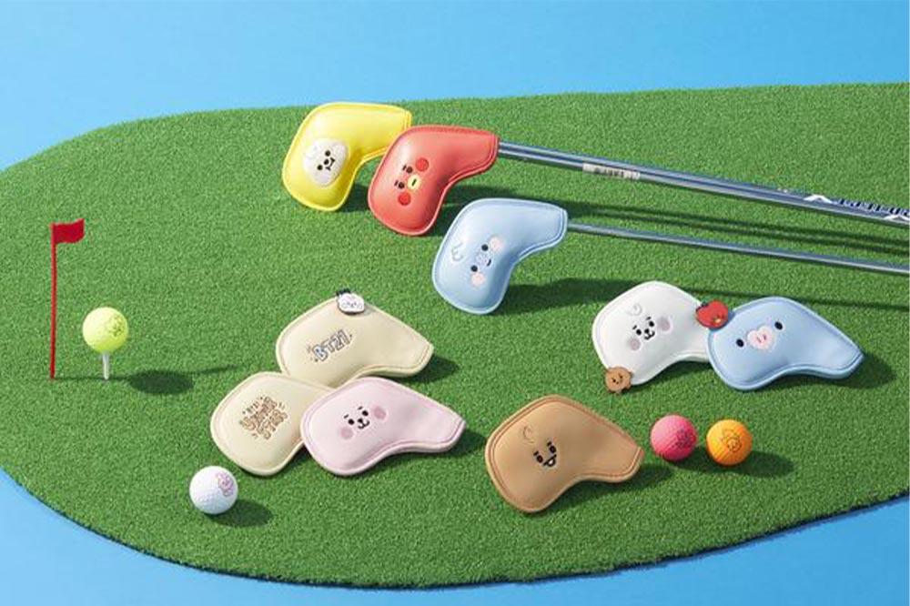 LINE FRIENDS golf BT21 Iron covers