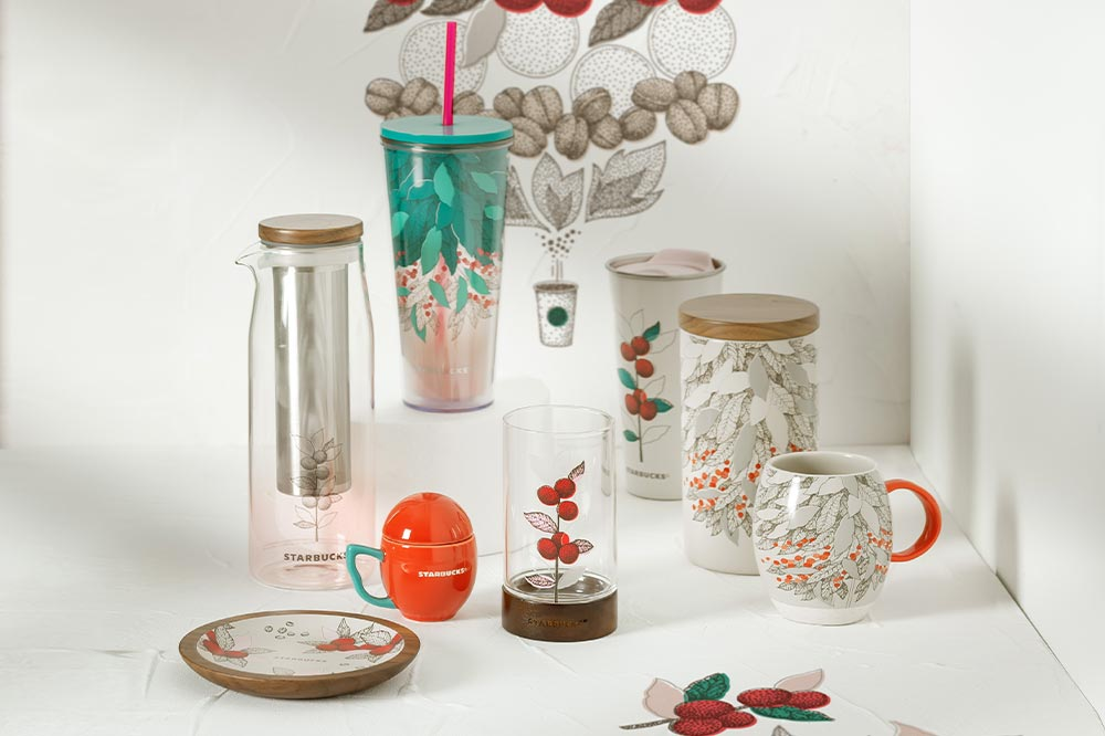 Starbucks Heritage Collection Items