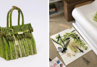 hermes vegetable bag - cover