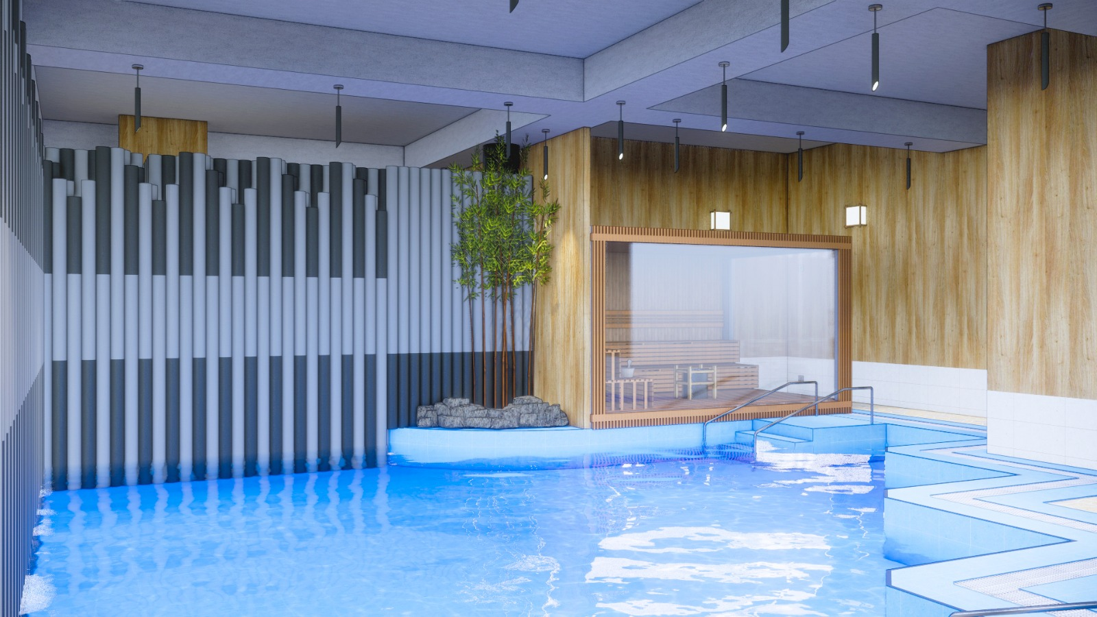 joya onsen cafe - baths