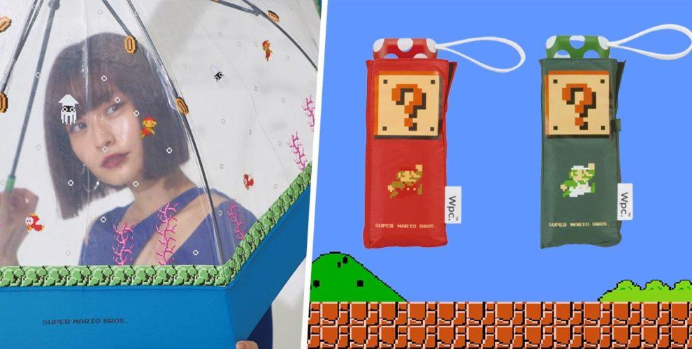 Super Mario Umbrellas