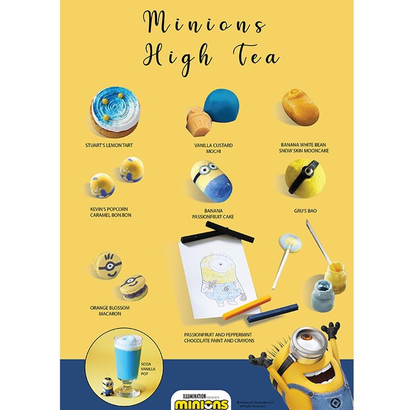 Minions High Tea Menu
