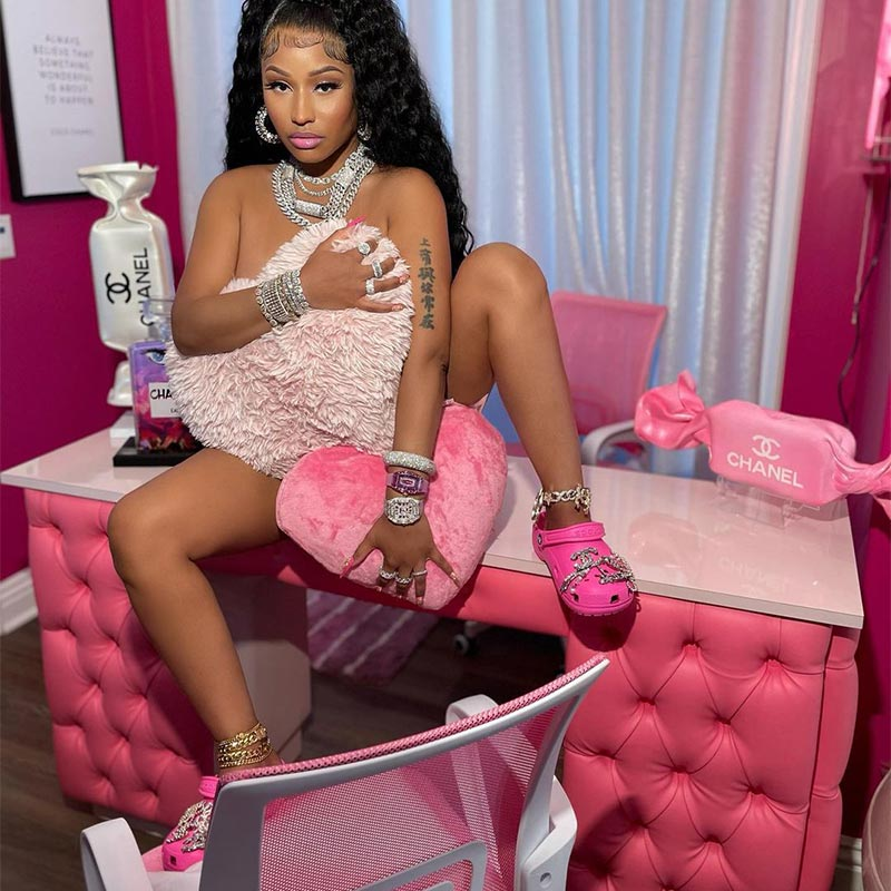 Balenciaga Crocs Nicki Minaj