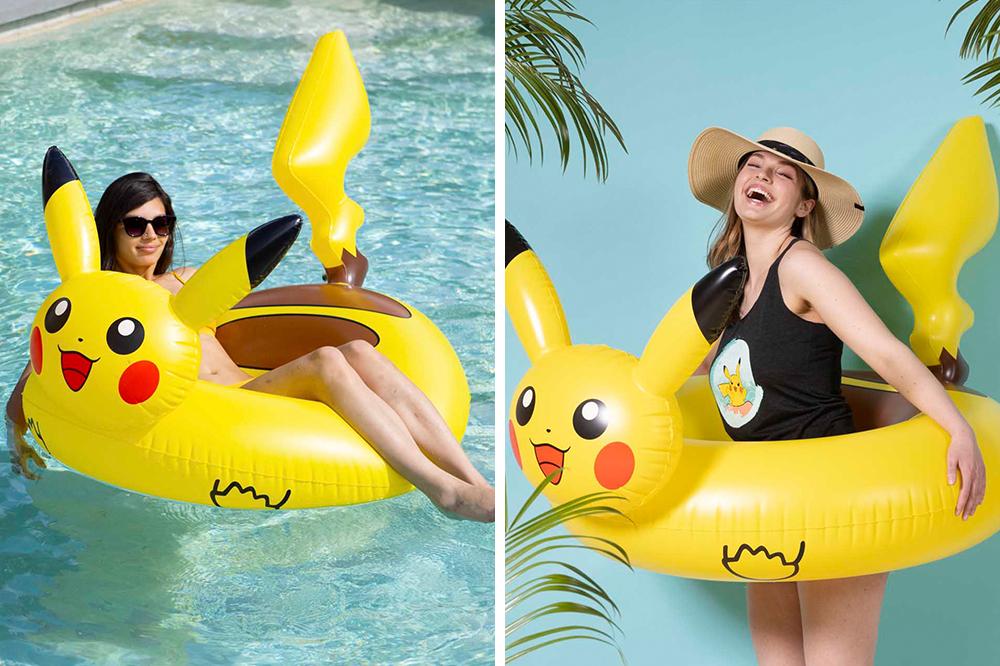 Pokémon swimming floats